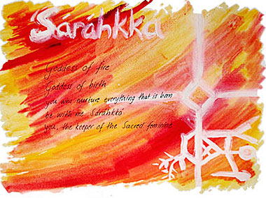 Sarahkka - godess of fire